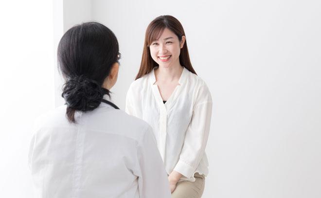 産婦人科医に相談