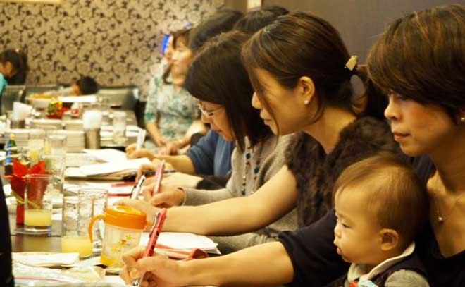 幸せなマザーワーキングコミュニティクリスマス会5