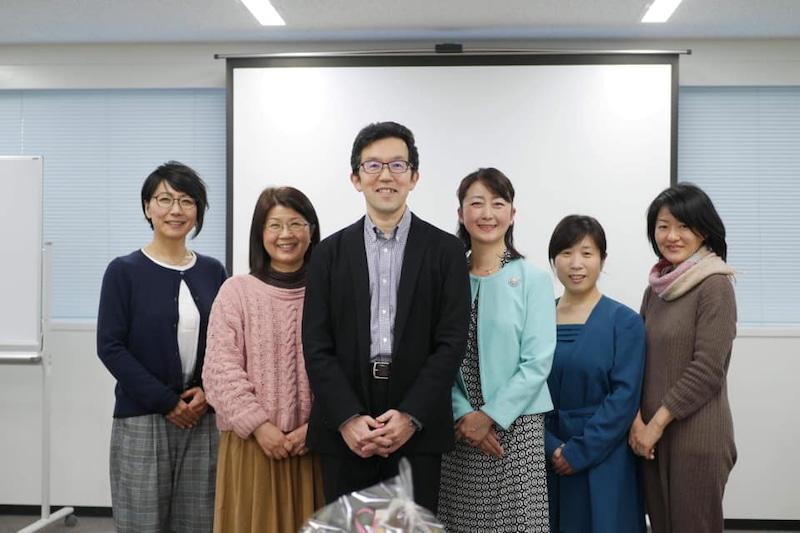 山口創先生とWOMANウェルネスプロジェクトスタッフ